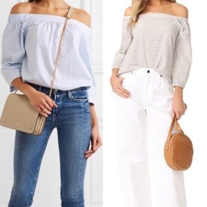 Madewell•Jardin Off the Shoulder Top•Size S